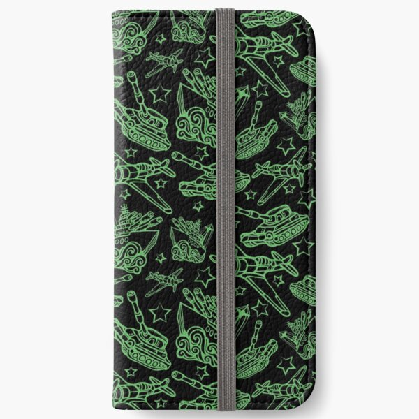 Military Forces Line Art  iPhone Wallet