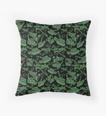 Military Forces Line Art  Floor Pillow