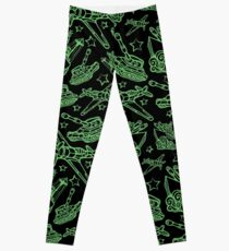 Military Forces Line Art  Leggings