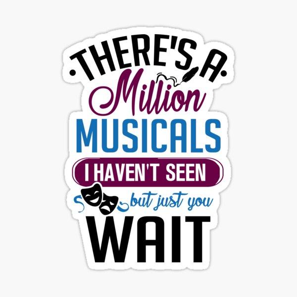 Million Musicals Sticker