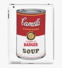 Camell's Cream of BADGER Soup Pop Art iPad Case/Skin