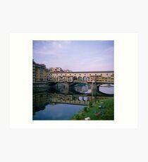 Italy Florence Pontevecchio Art Print