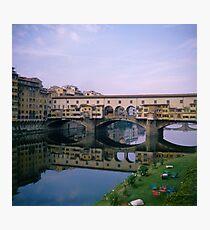 Italy Florence Pontevecchio Photographic Print