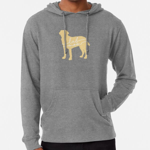 Yellow Lab Mom Lightweight Hoodie