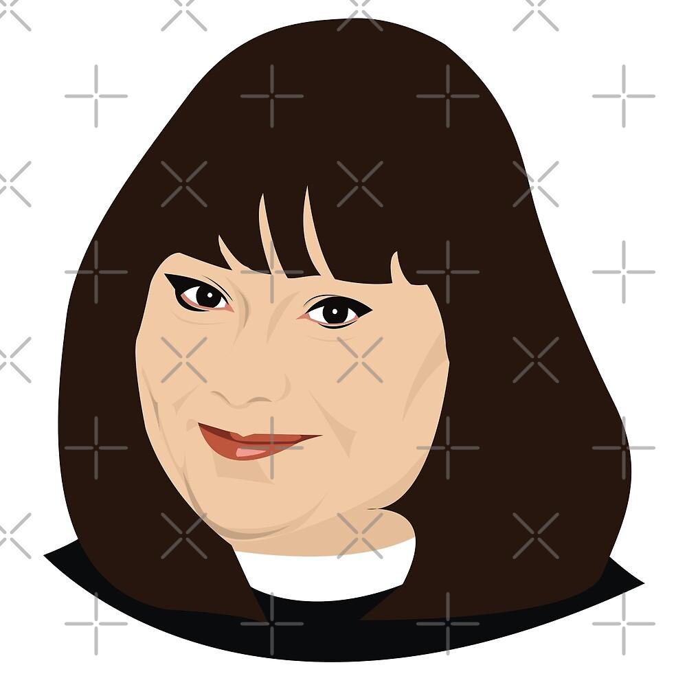 Geraldine Granger by gregs-celeb-art