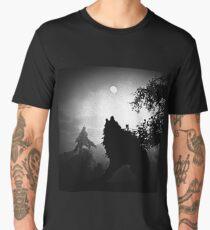 Howling at the Moon Men's Premium T-Shirt