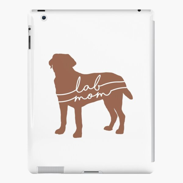 Chocolate Lab Mom iPad Snap Case