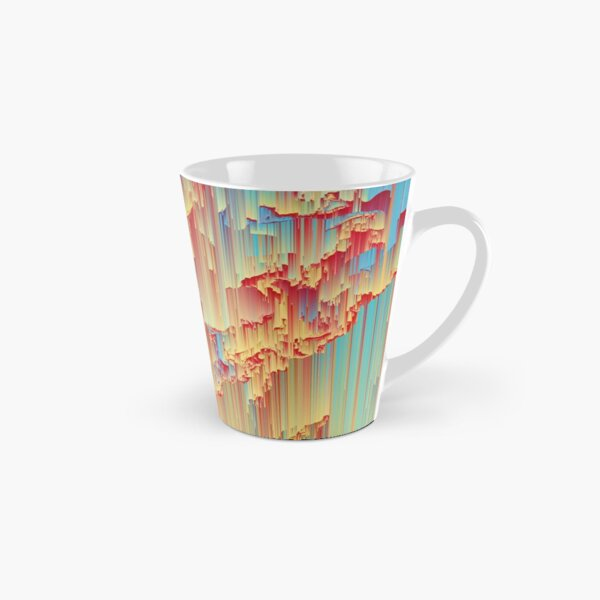 Happy Rain - Glitchy Abstract Tall Mug
