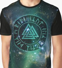 Valknut - Not All Who Wander Graphic T-Shirt