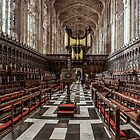 KINGS COLLEGE CHAPEL by Peter Sutton