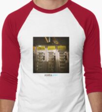 Holga Burgers Men's Baseball ¾ T-Shirt
