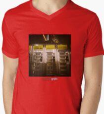 Holga Burgers Mens V-Neck T-Shirt