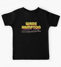 Wade Hampton, South Carolina | Retro Stripes Kids Tee