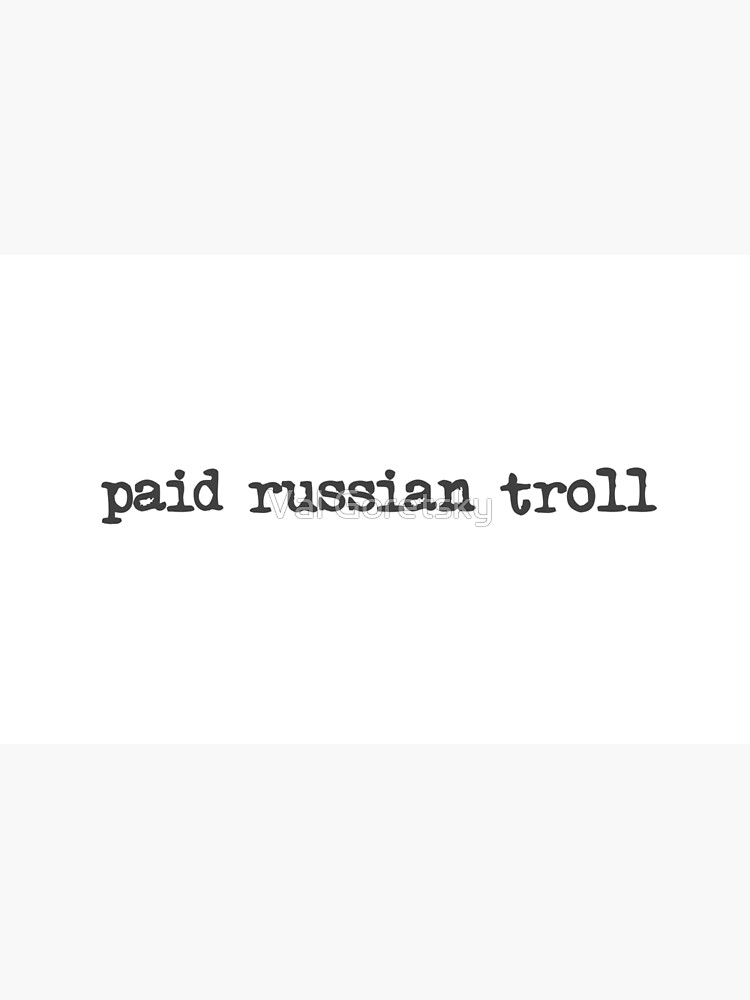 bezahlter russischer Troll von RedDax