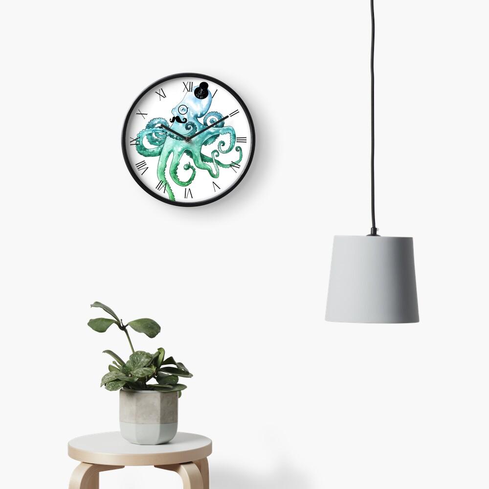 Dapper Octopus Clock