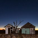 Two Sheds by David Haworth