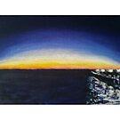 Sunset Port Noarlunga Jetty by Stefan Maguran