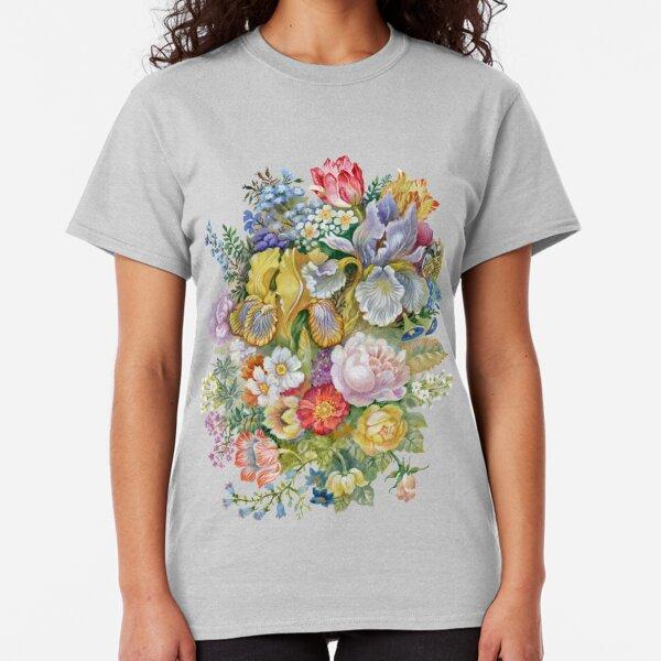 Flower Bouquet Painting Classic T-Shirt