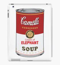 CAMELL'S Cream of ELEPHANT Soup Pop Art iPad Case/Skin