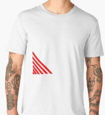 Red Stripes Men's Premium T-Shirt