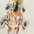 Giraffe  by eatdrinkarts