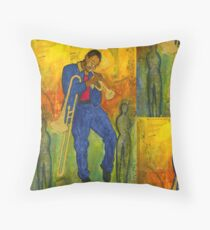 Man of Many Talents Throw Pillow