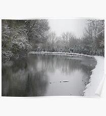 Snow Scene Poster