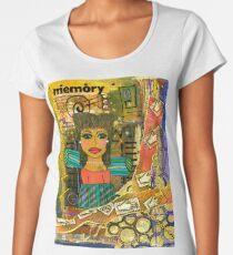 The Angel of Fond Memories Women's Premium T-Shirt