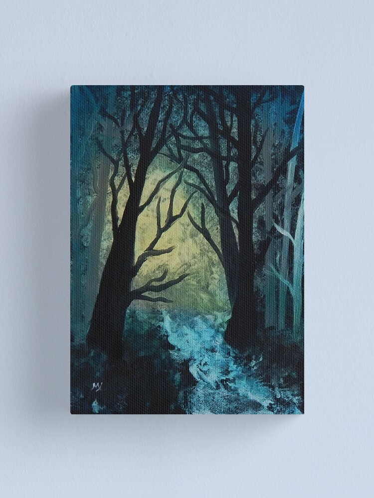 Alternate view of In Search of Alice Canvas Print
