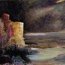 Dark stormy night by Lorenzo Castello