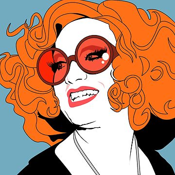 Jinkx Monsoon Pop Art Illustration by wretchedginger