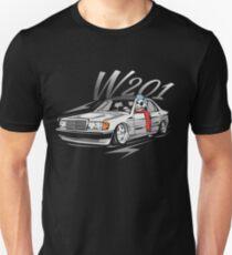 "W201 ""Low Style Skulldriver"" Unisex T-Shirt"