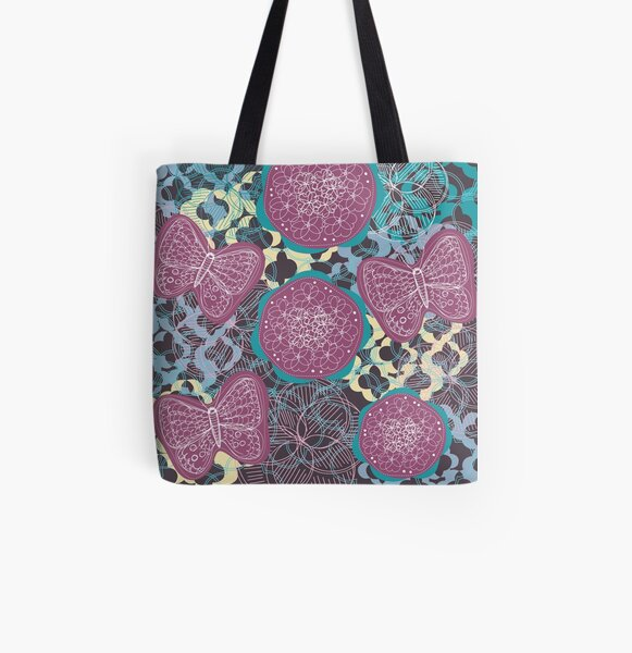 Life All Over Print Tote Bag