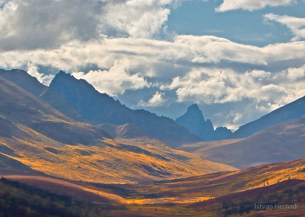 Tombstone Park, Yukon by Istvan Hernadi