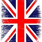 UK Union Jack Vintage Flag  by EthosWear