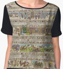 Blusa Quince paneles de Gabeaux Tapestry