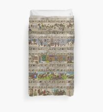 Fifteen panels of Gabeaux Tapestry Duvet Cover