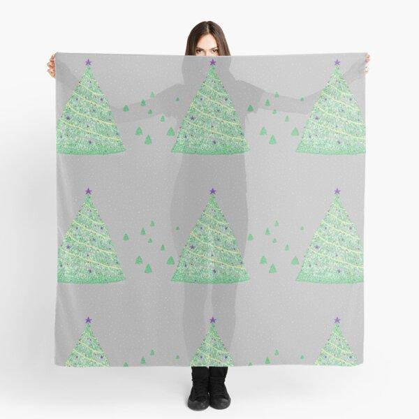 Christmas Trees Scarf