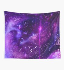 Neon Dreamscape Wall Tapestry