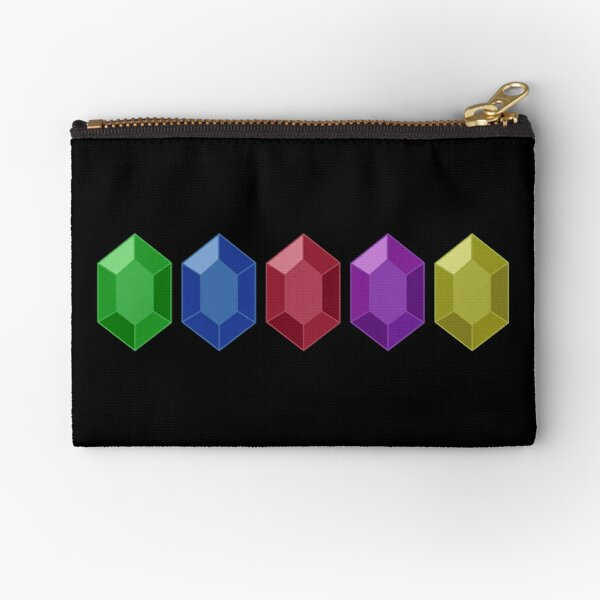 Legend of Zelda Inspired Small Zippered Pouch