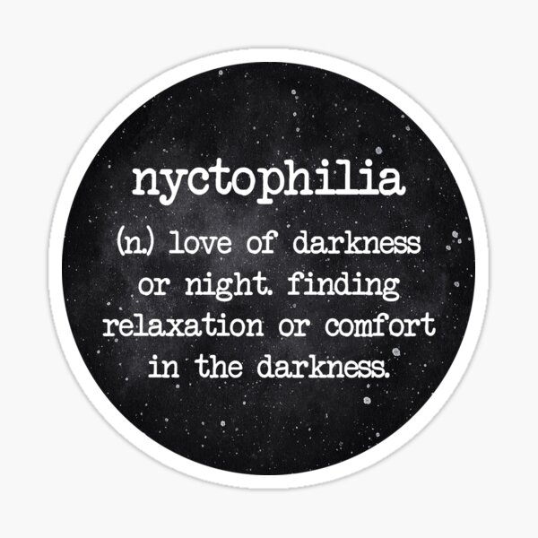 Nyctophilia Stickers Redbubble