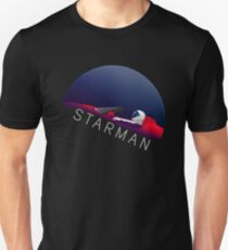 Spacex Starman Falcon Heavy Tesla Roadster Space Unisex T-Shirt