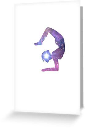 Yoga greeting cards by kassidy dillard redbubble yoga by kassidy dillard m4hsunfo