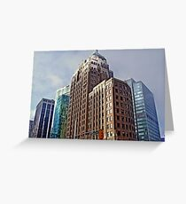 Marine Building Greeting Card