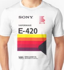 Vaporwave VHS Unisex T-Shirt