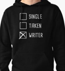 Funny Novelist Writer Graphic Gift Pullover Hoodie