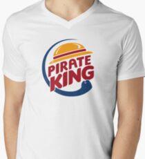 Camiseta para hombre de cuello en v Rey Pirata