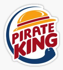 Pirate King Sticker