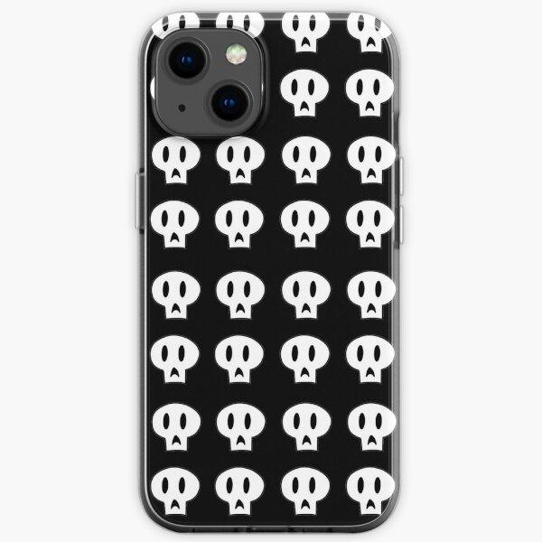 Skull Pattern iPhone Soft Case