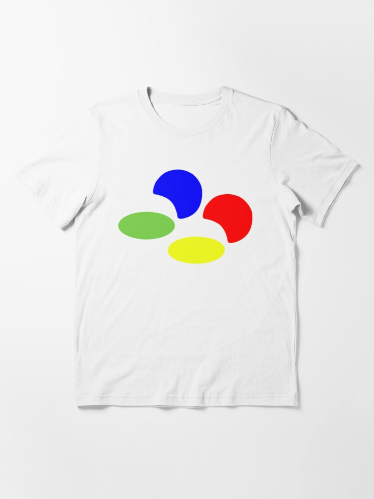Alternate view of Super NES Logo (Flat) Essential T-Shirt